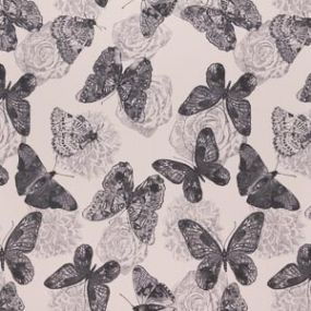 Butterfly schwarz - grau 1