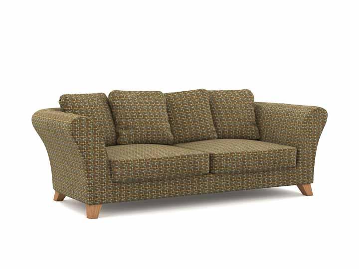 net beige braun 2 stoffe. Black Bedroom Furniture Sets. Home Design Ideas