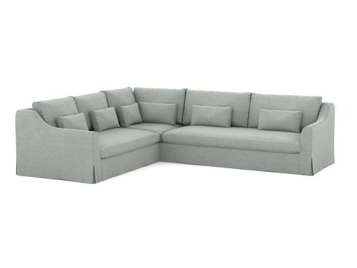 Farlov pokrowiec na sofę narożną 2+3 osobową