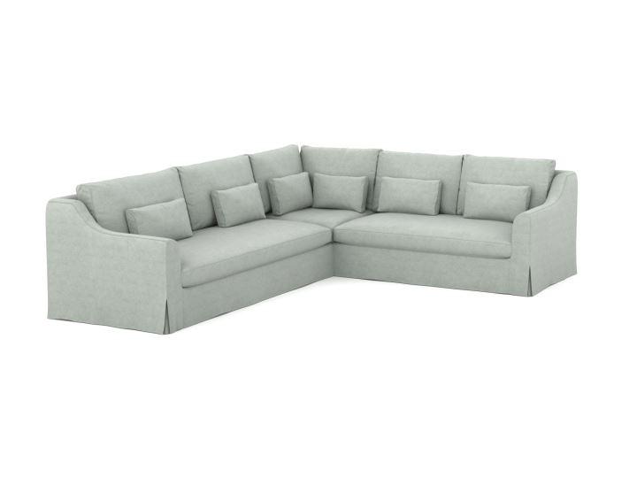 Farlov pokrowiec na sofę narożną 3+2-osobową