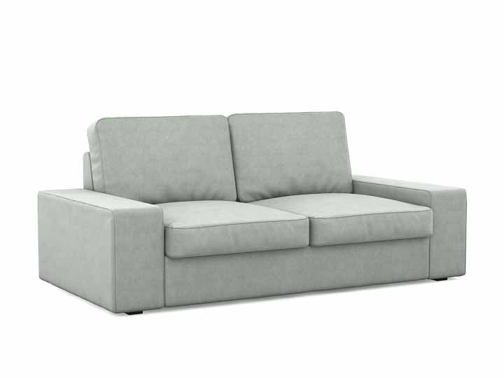 ikea kivik leder kivik three seat sofa isunda beige ikea. Black Bedroom Furniture Sets. Home Design Ideas