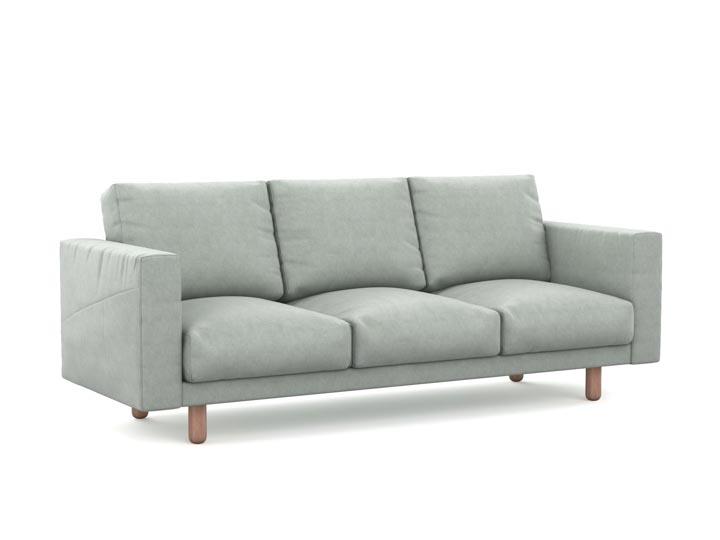 Norsborg pokrowiec na sofę 3-osobową z kieszeniami bocznymi