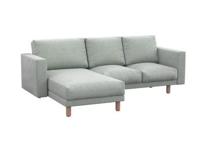 Norsborg pokrowiec na sofę 3-osobową z szezlongiem i kieszeniami bocznymi