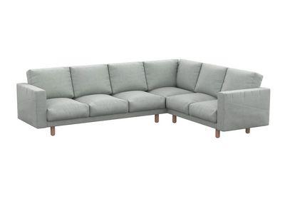 Norsborg pokrowiec na sofę narożną 5-osobową z kieszeniami bocznymi