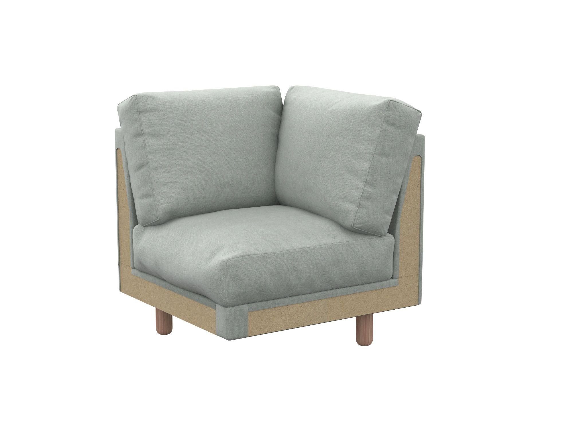 Norsborg pokrowiec na sofę 2-osobową z kieszeniami bocznymi