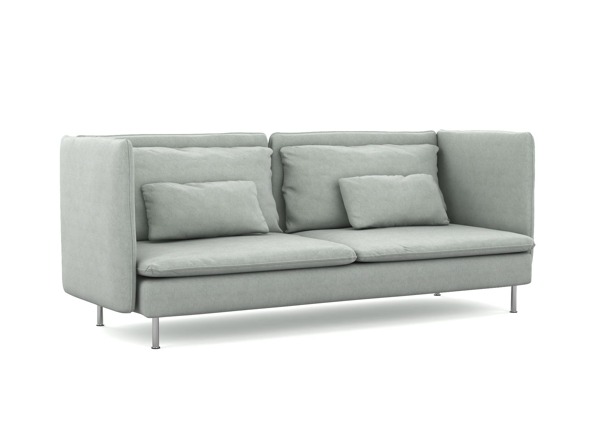 Söderhamn 3-Sitzer Hochlehnen-Sofabezug