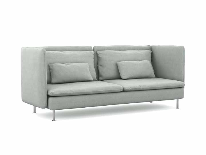 Söderhamn 3-seater High backrest sofa cover