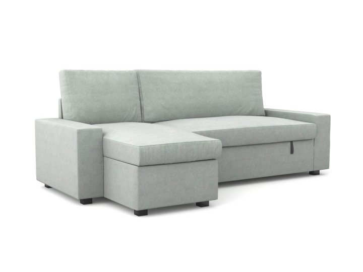 Vilasund bed sofa with recamiere cover