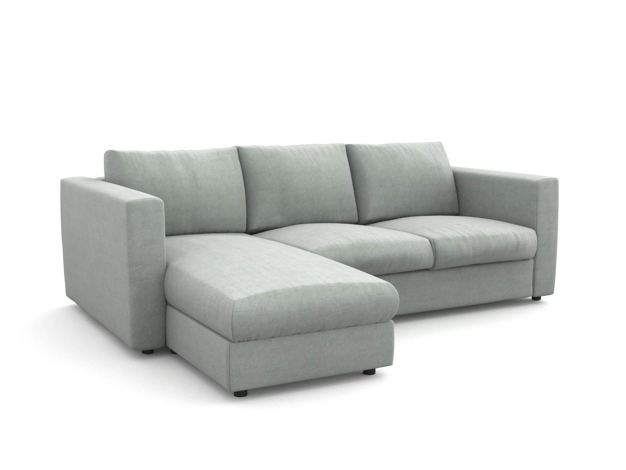 Vimle pokrowiec na sofę 3- osobową z szezlongiem