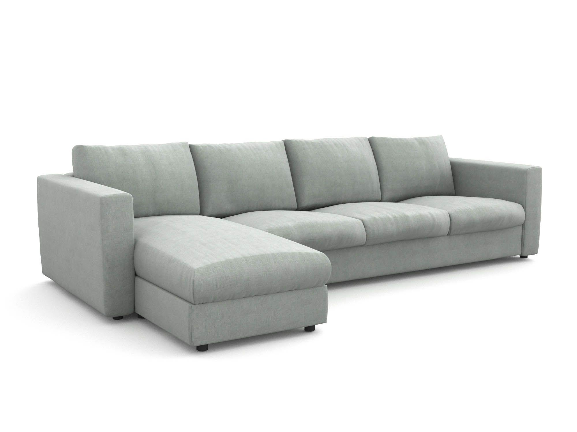 Vimle pokrowiec na sofę 4 osobową z szezlongiem